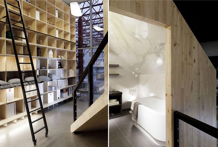 inspiring mirko tattarini designing nido showroom