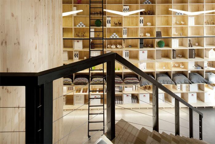 nido retail experience space