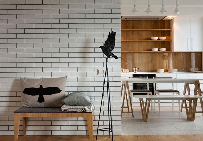 bird decor apartment