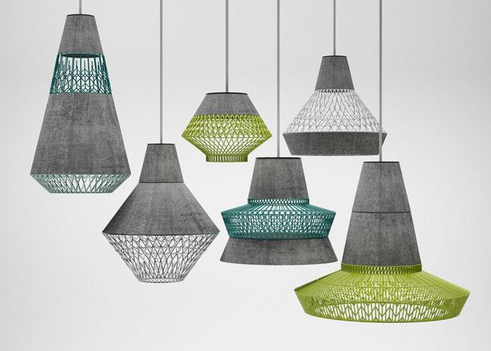 concrete metal lighting