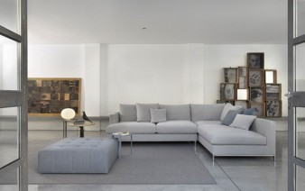 contemporary style loft sofa 338x212