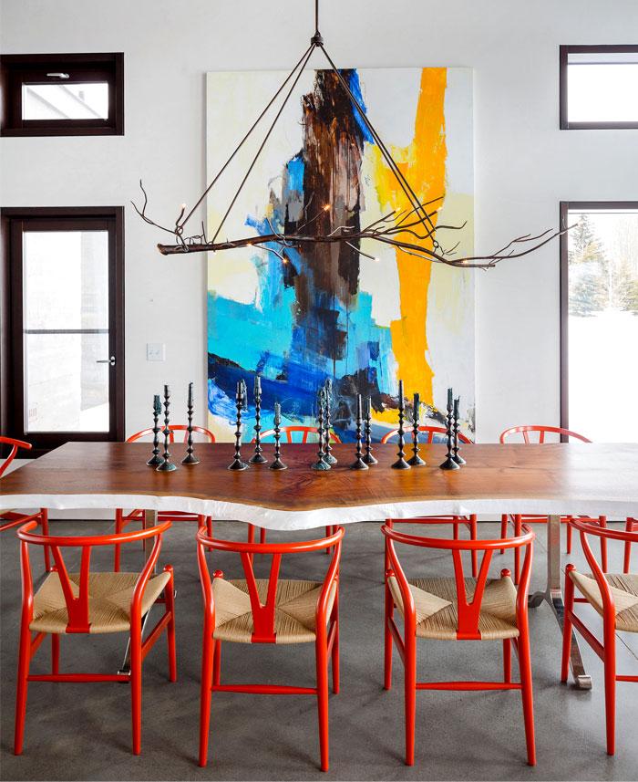 dining area art decor