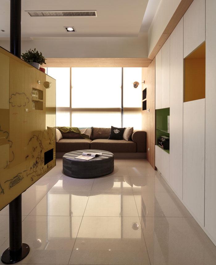family apartment taiwan flooring