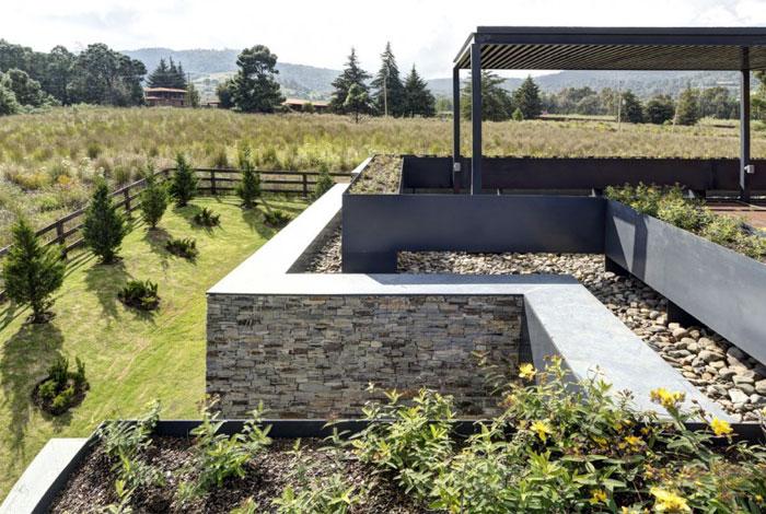 stone wood exotic textures garden