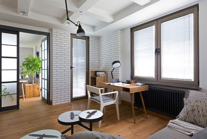 wood floors living areas