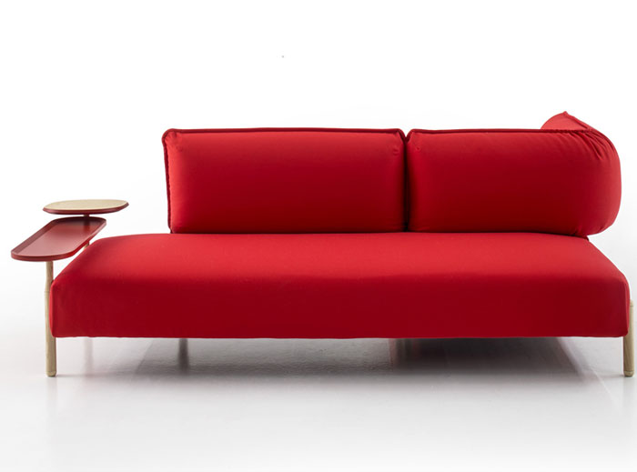 bright-color-rounded-shape-red-sofa