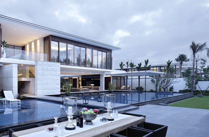 latest modern trends newly build villa