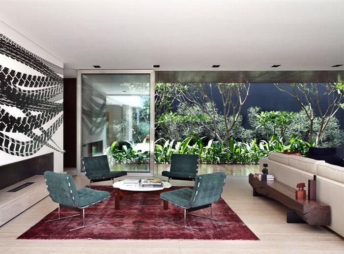living room transformed large balconies