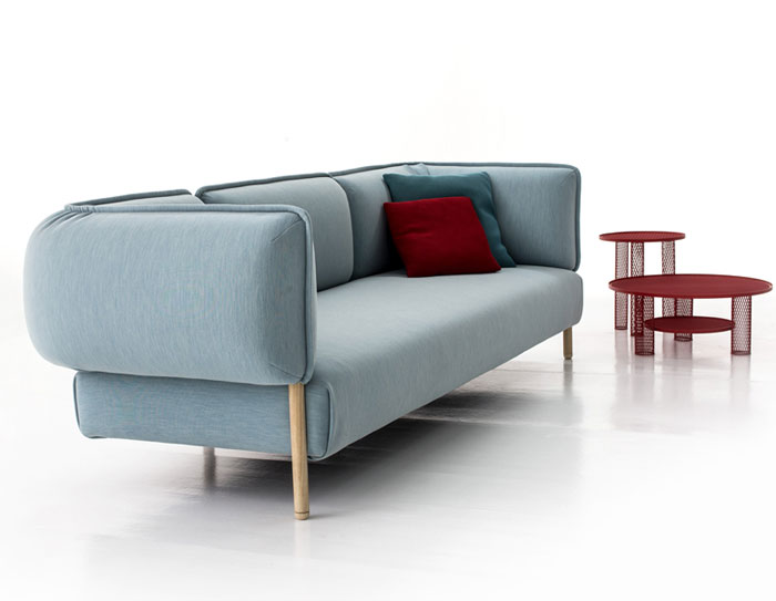 Flexible Modern Modular Sofa by Patricia Urquiola - InteriorZine