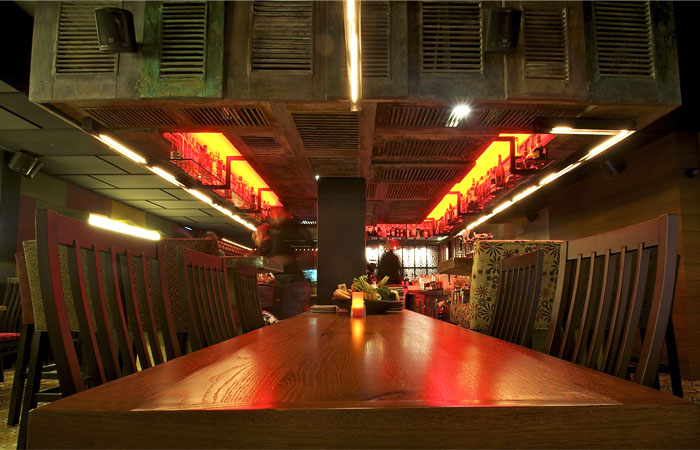 restaurant interior decor