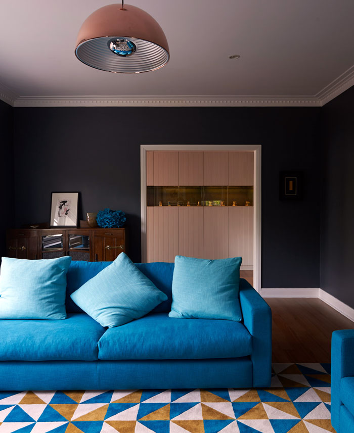 stylish creative dazzling blue decor
