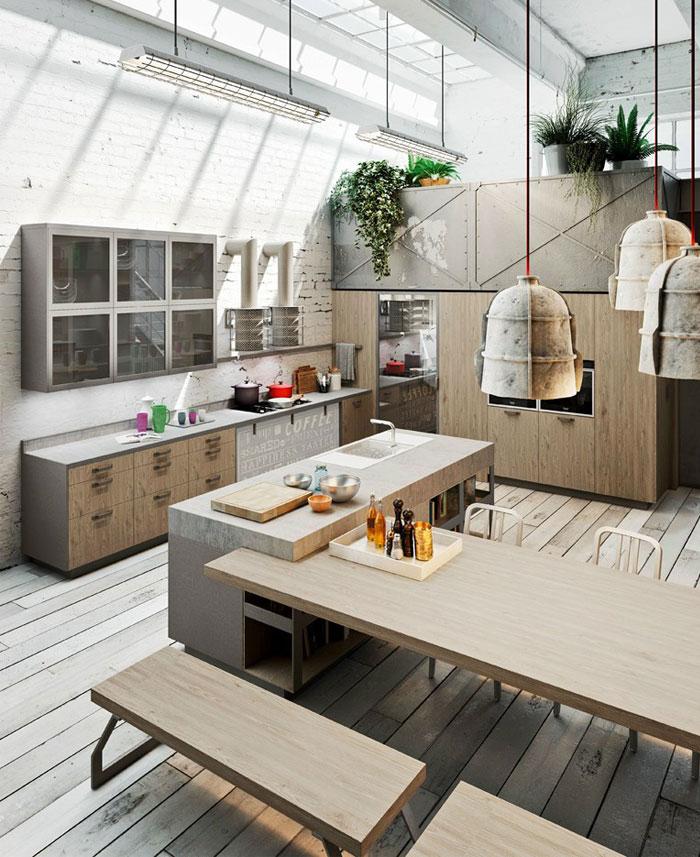 cement-stainless-steel-kitchen-design