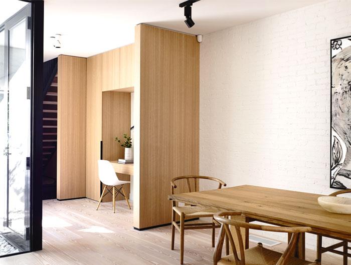 clear lines elegant interior