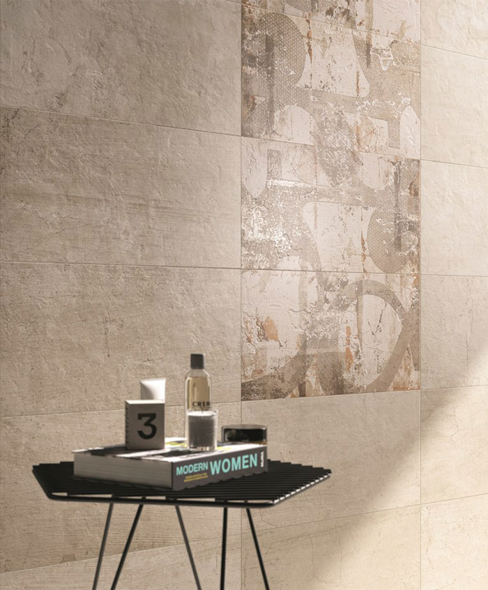 concrete floor wall tiles