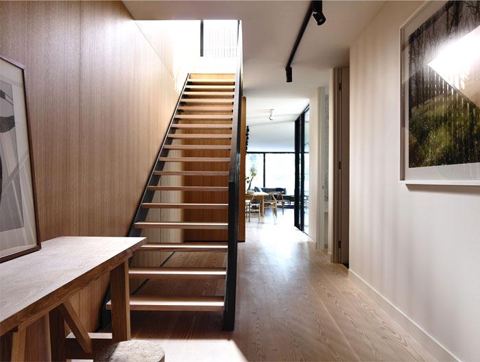 elegant interior staircase