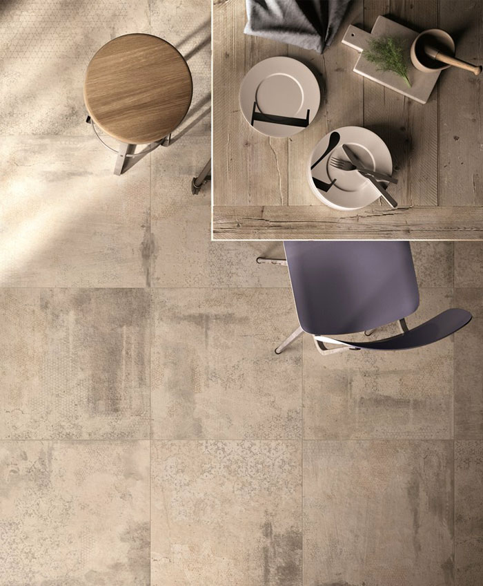 new trendy flooring tile
