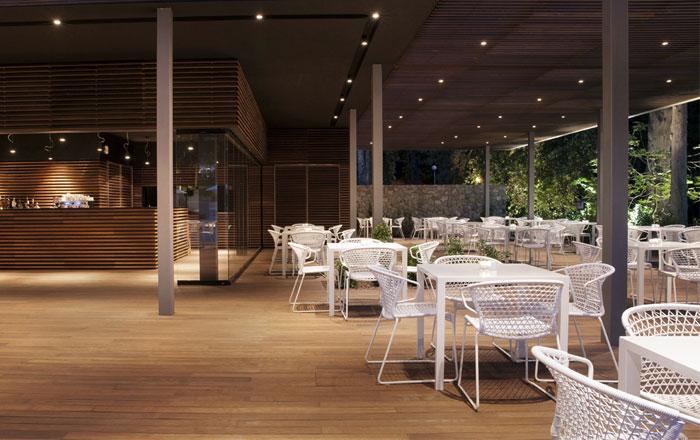 restaurant hidden forest park
