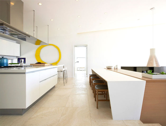 sea house strong individuality kitchen area