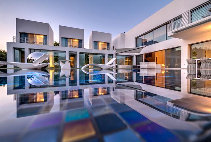 house around water premise
