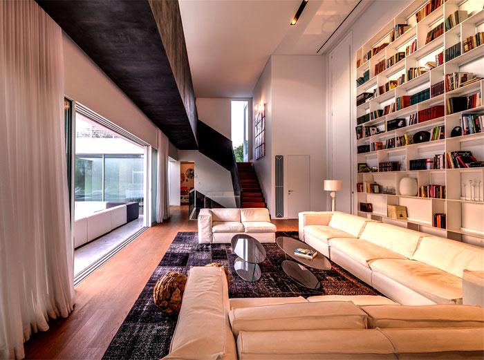 main living area spacious comfortable