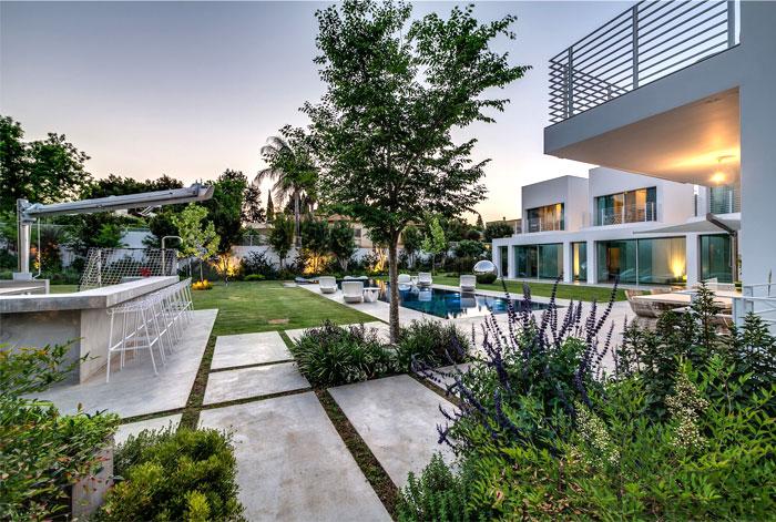 modernistic unique mansion