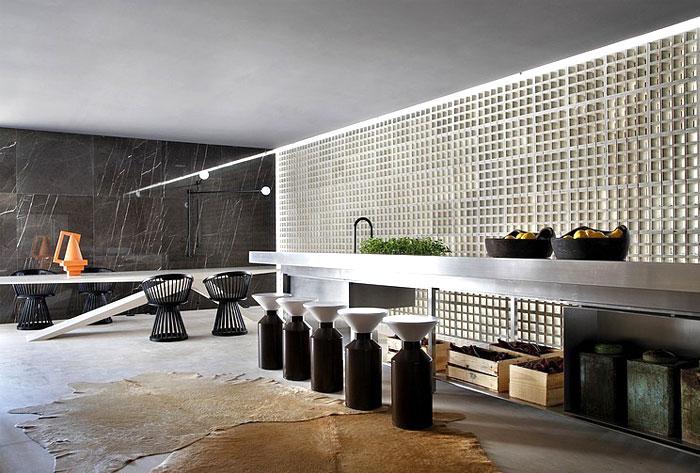 villa deca guilherme torres kitchen