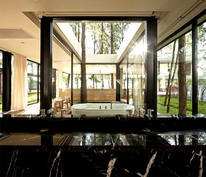 house floor to ceiling windows