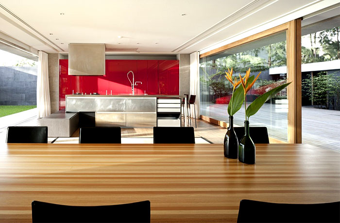 seafront house kitchen