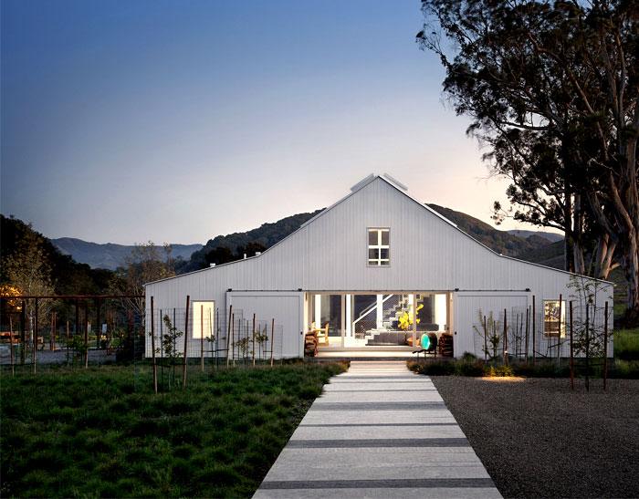 cozy unique barn home