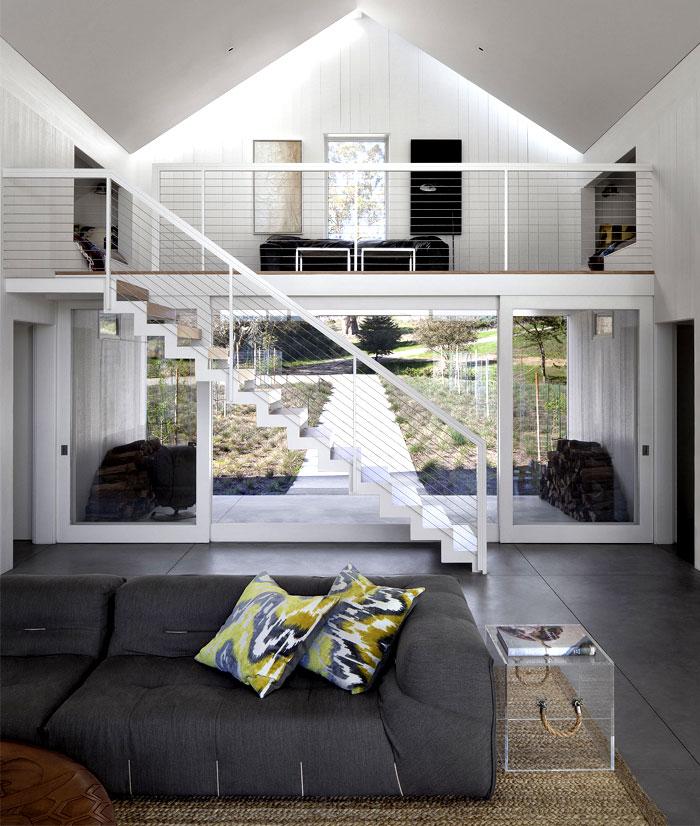 glass barn house