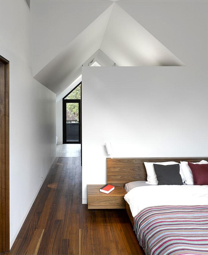 beautiful american black walnut bedroom floor
