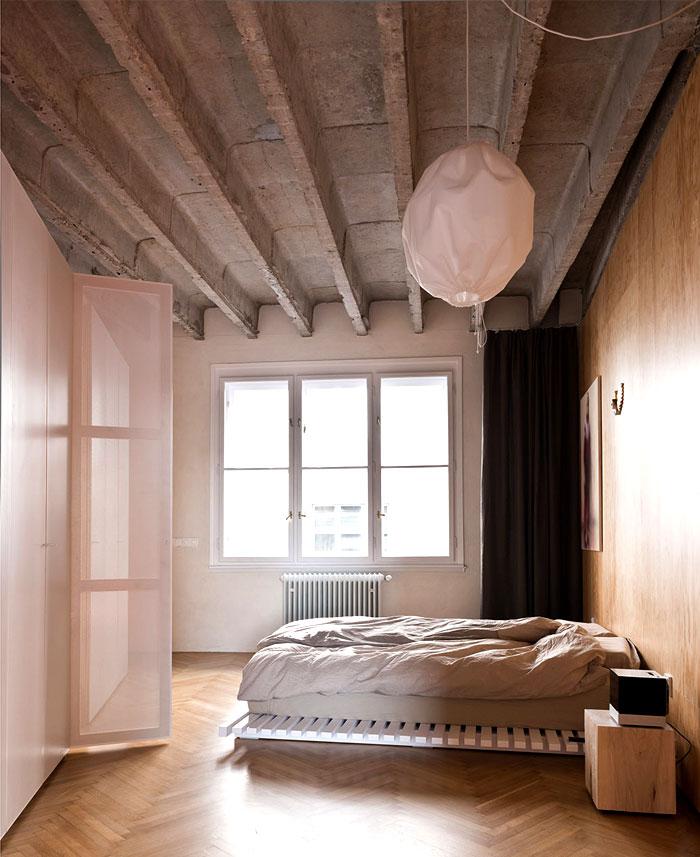 bratislava loft like space bedroom 1
