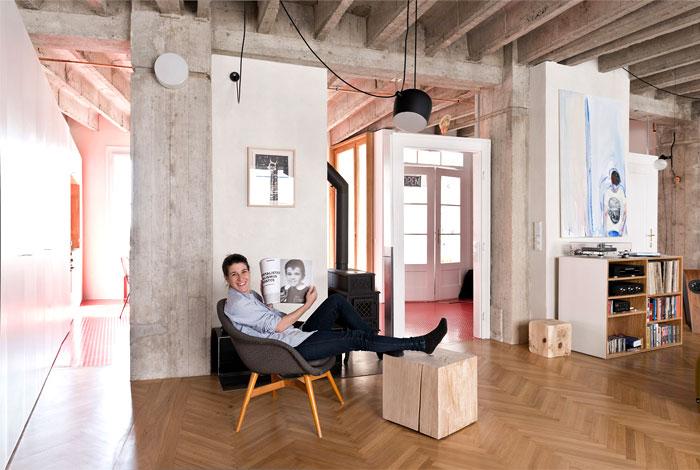bratislava loft like space living room