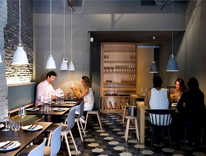 cozy chic barcelona restaurant