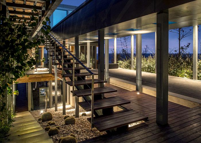 lebanon villa staircase