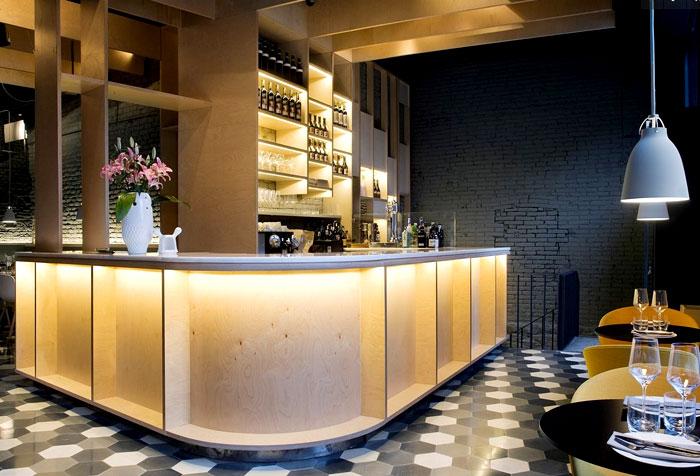 nordic influence furnishing restaurant 2