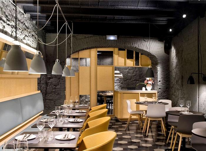 nordic influence furnishing restaurant