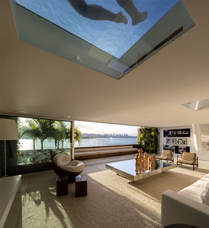 Stupendous Ultra Luxury Penthouse In Rio De Janeiro Interiorzine Download Free Architecture Designs Terstmadebymaigaardcom