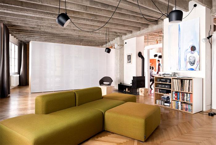 soft cross shaped sofa
