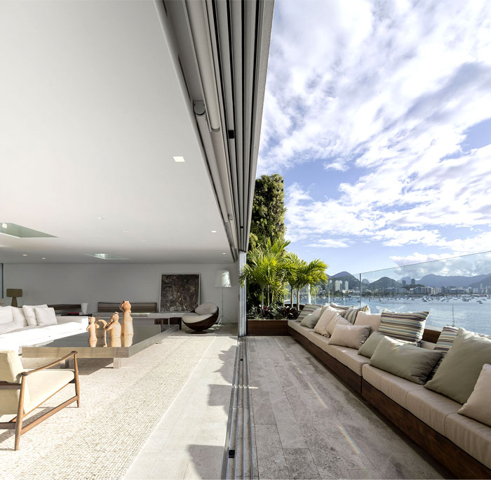 Fabulous Ultra Luxury Penthouse In Rio De Janeiro Interiorzine Download Free Architecture Designs Terstmadebymaigaardcom