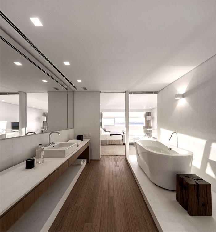 ultra luxury penthouse bathroom