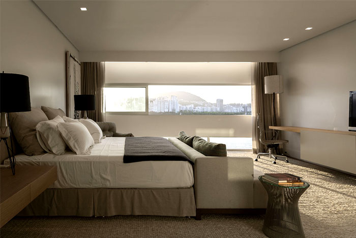 ultra luxury penthouse bedroom