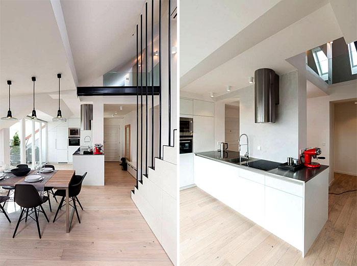 kitchen completely white