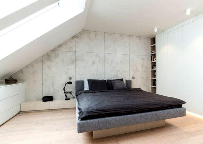 loft apartment bedroom