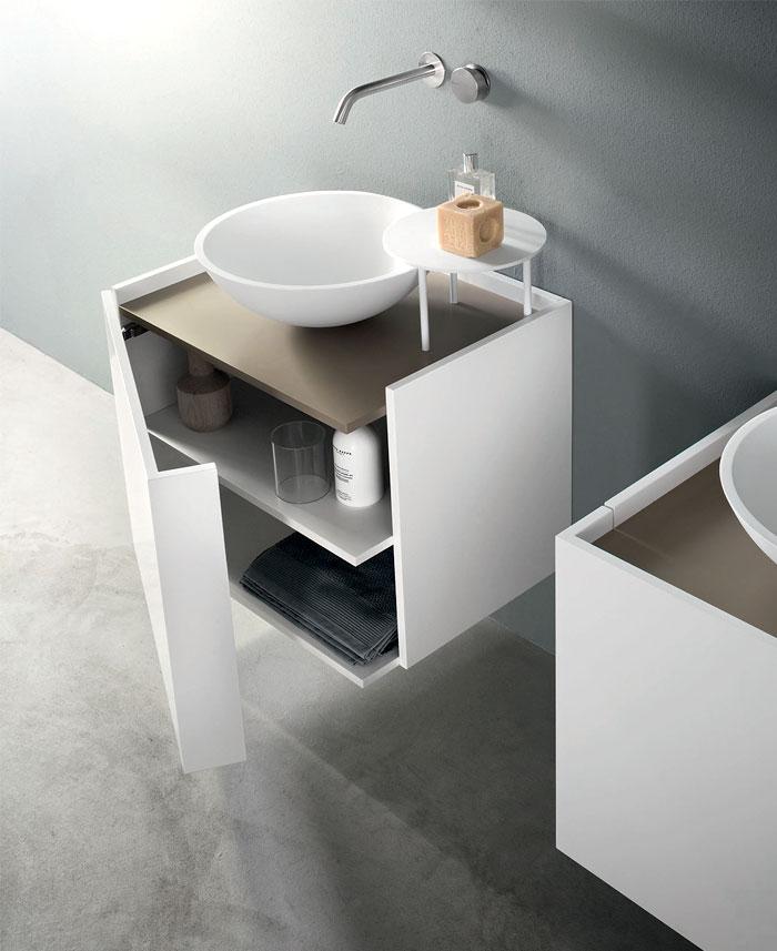 tender new bathroom cabinet