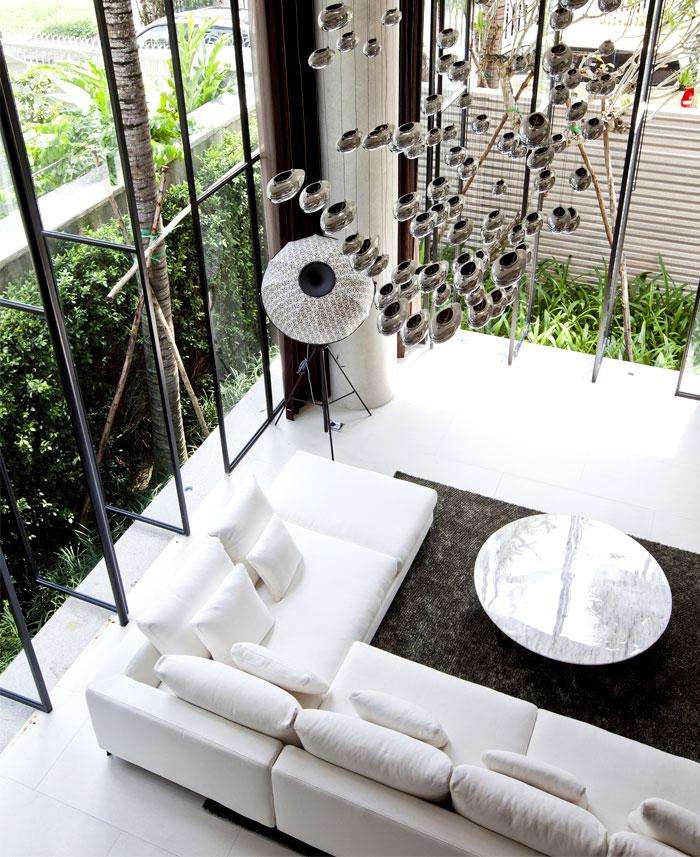 innovative three level house