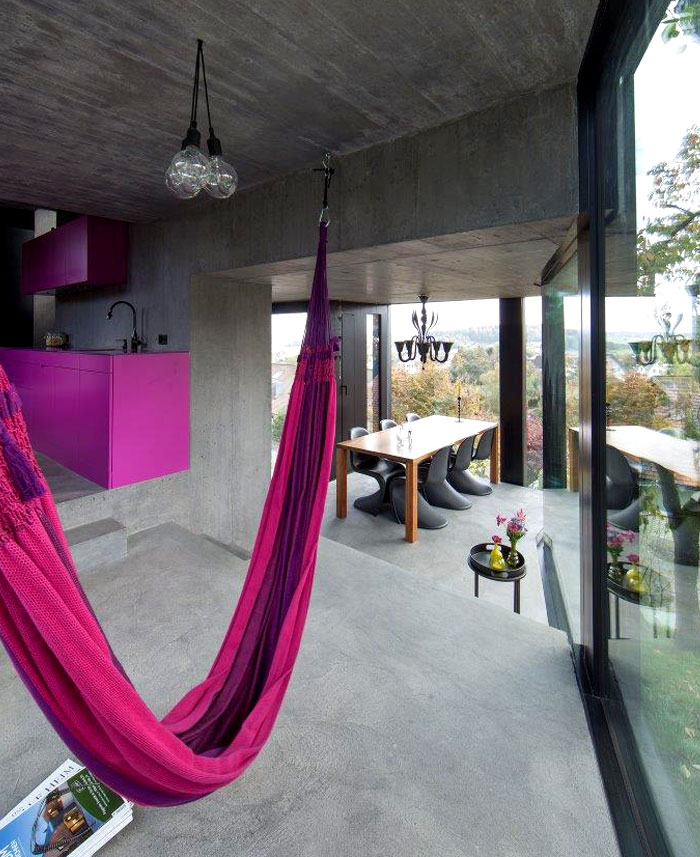 trubel house purple interior