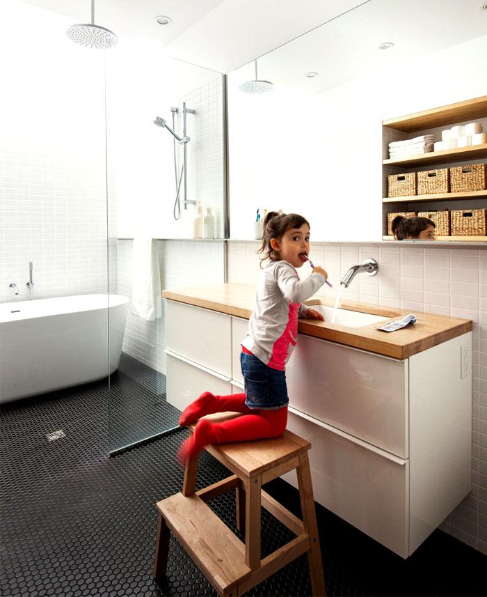 bathrooms stylish simple elegant