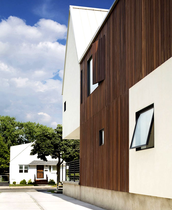 clear lined simple style facade