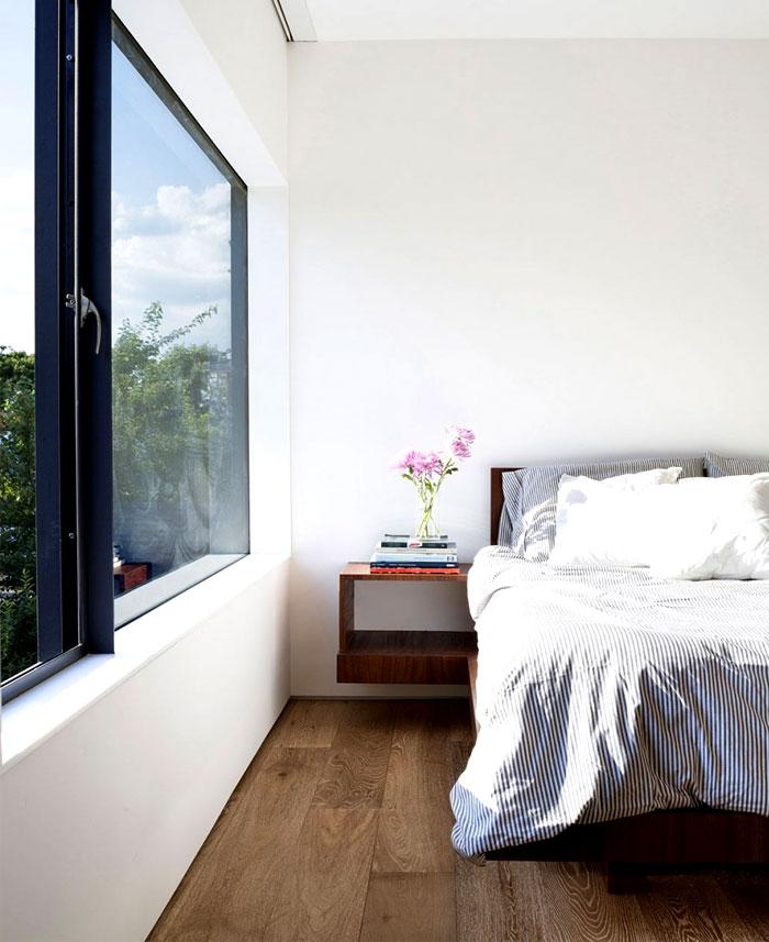 dark parquet bedrooms